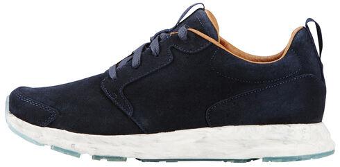 Ariat Women's Bluebird Suede Fusion Athletic Shoes , Blue, hi-res