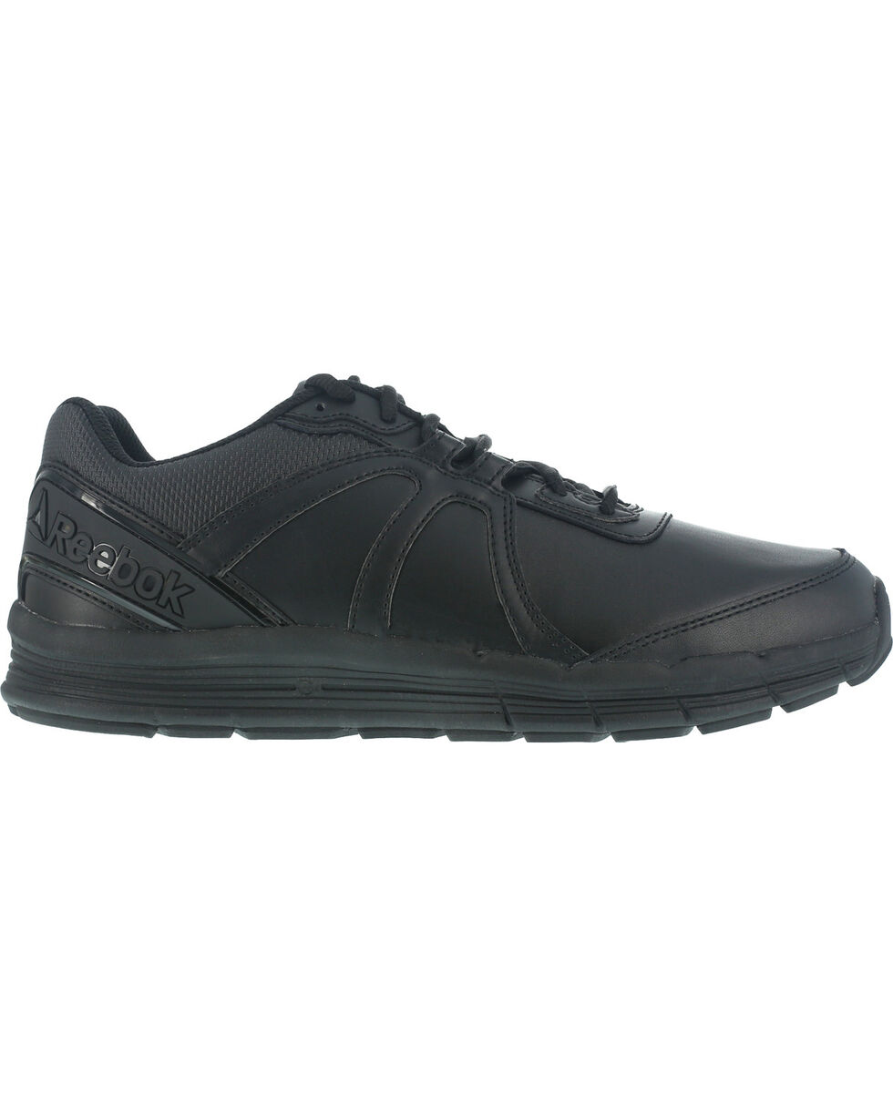 Reebok Women's Guide Athletic Oxford Work Shoes - Soft Toe , Black, hi-res