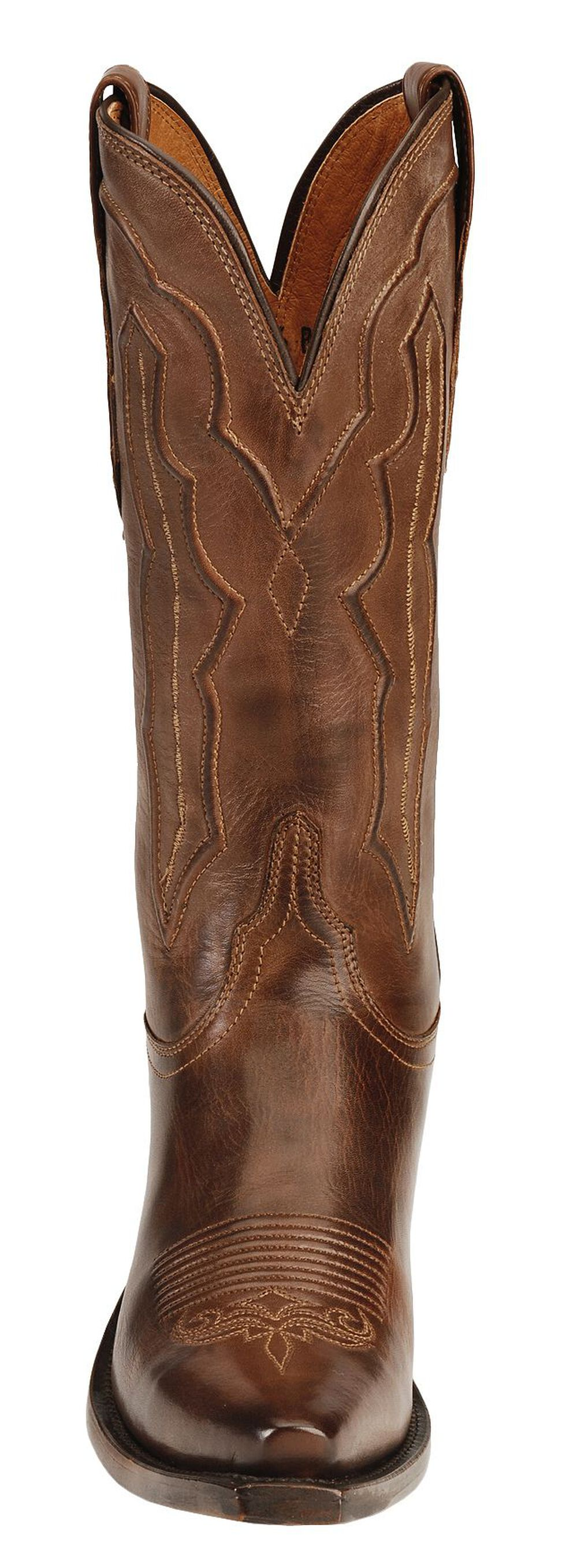 Lucchese Handmade 1883 Grace Cowgirl Boots - Snip Toe, Tan, hi-res