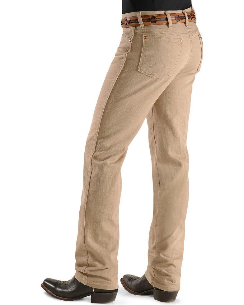 Wrangler 936 Cowboy Cut Slim Fit Jeans - Prewashed Colors, Tan, hi-res
