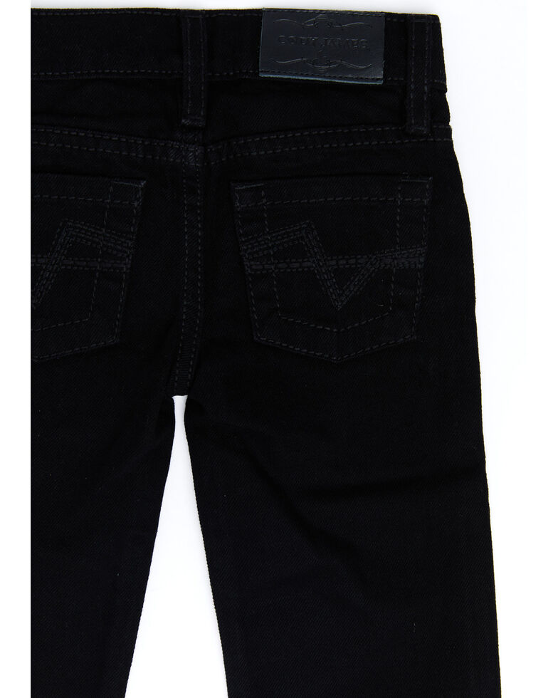 Cody James Toddler Boys' Night Rider Rigid Relaxed Bootcut Jeans , Black, hi-res