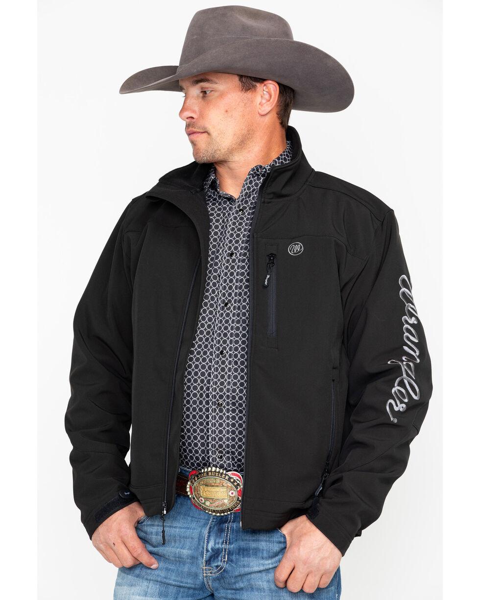 Wrangler Men's Water Resistant Trail Jacket, Black, hi-res