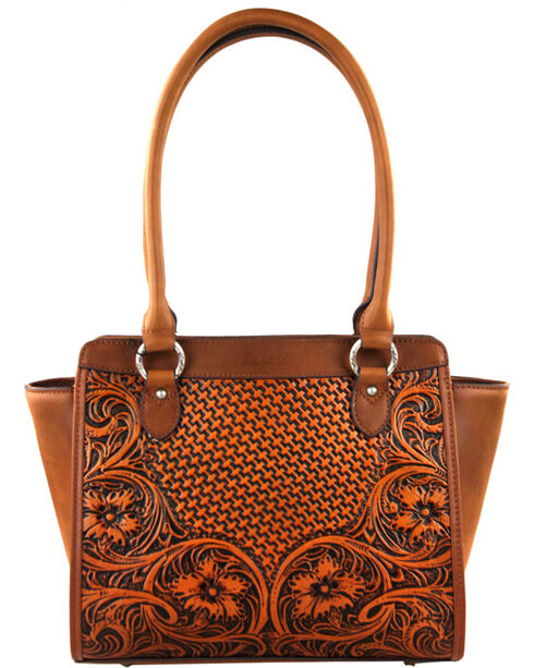 Montana West Brown Delila 100% Genuine Leather, Brown, hi-res