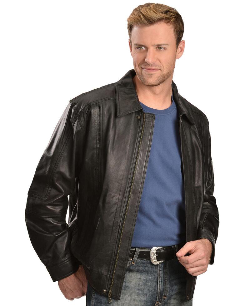 Scully Premium Lambskin Jacket - Tall, Black, hi-res