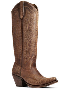 Ariat Women's Casanova Western Boots - Snip Toe, Brown, hi-res