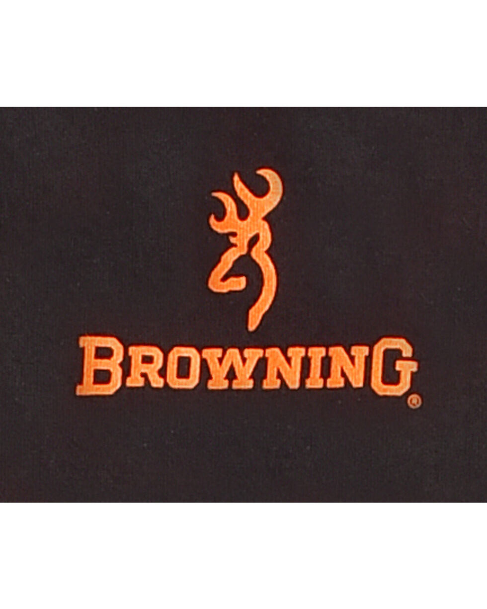 Browning Boys' Black Colorblock Buckmark Tee , Black, hi-res
