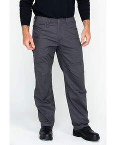 Hawx Men's Stretch Ripstop Utility Work Pants , Charcoal, hi-res