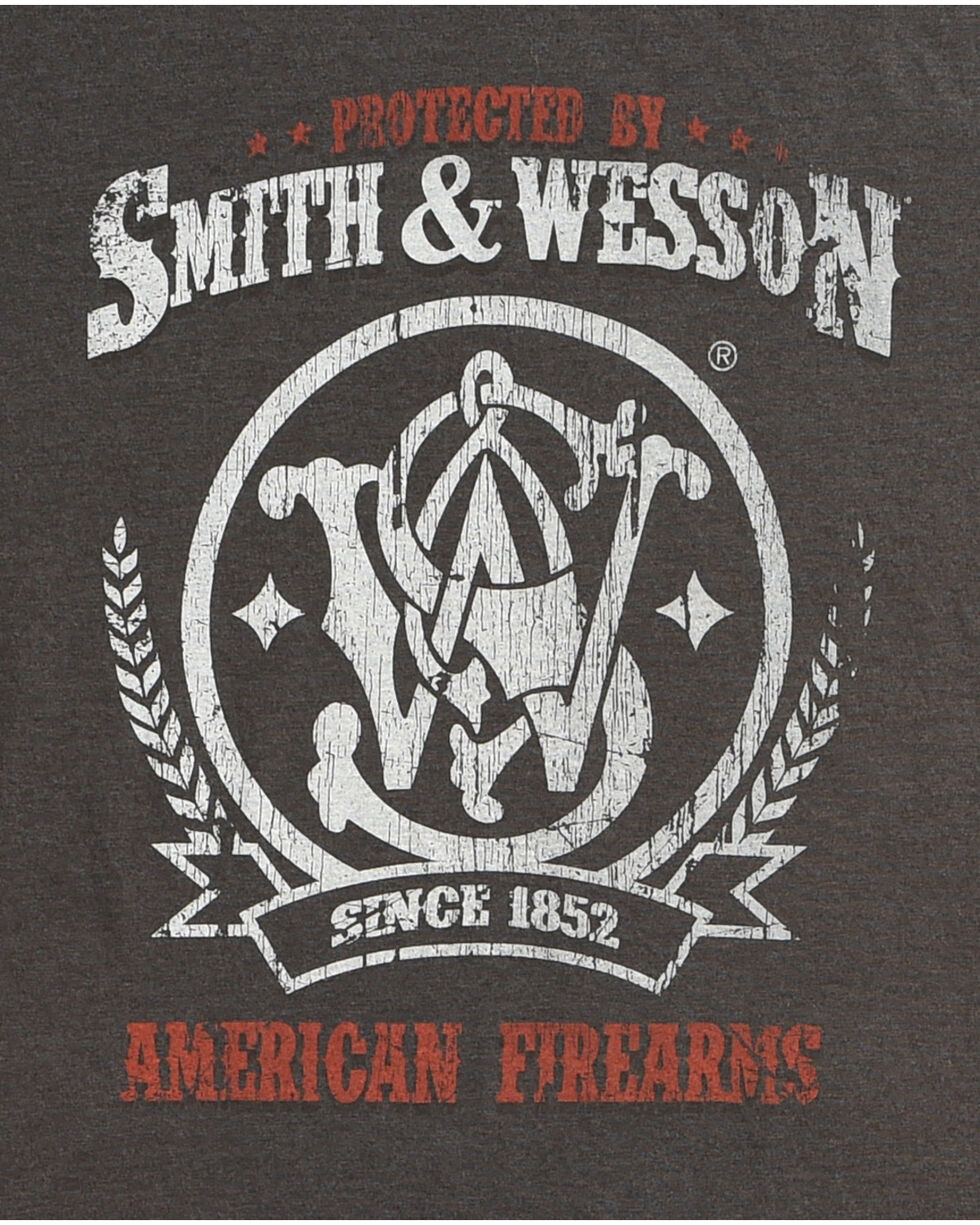 Smith & Wesson Men's Protected Premium Tee, Black, hi-res