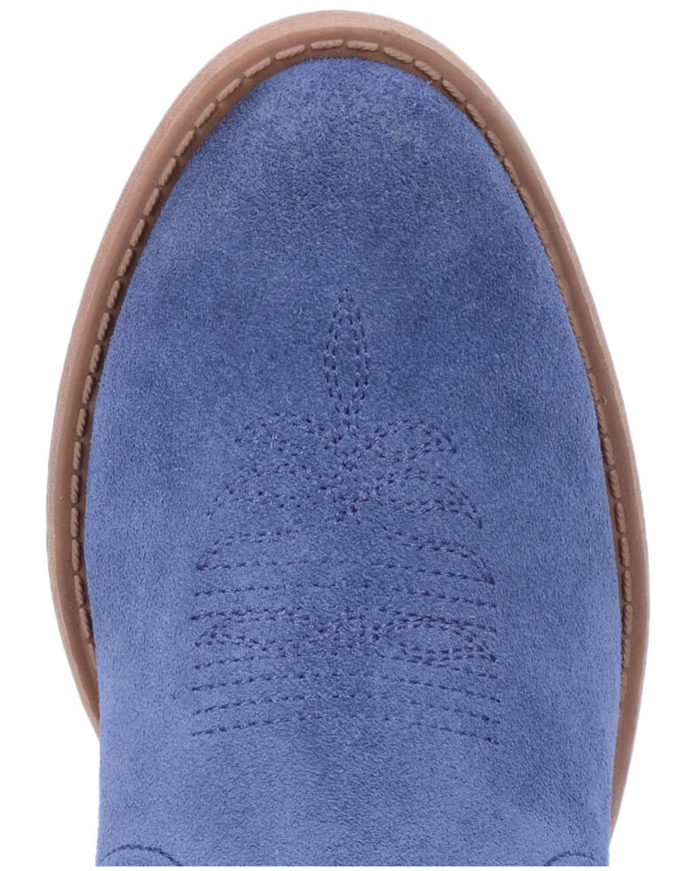 Dingo Women's Blue Jackpot Western Booties - Round Toe, Blue, hi-res
