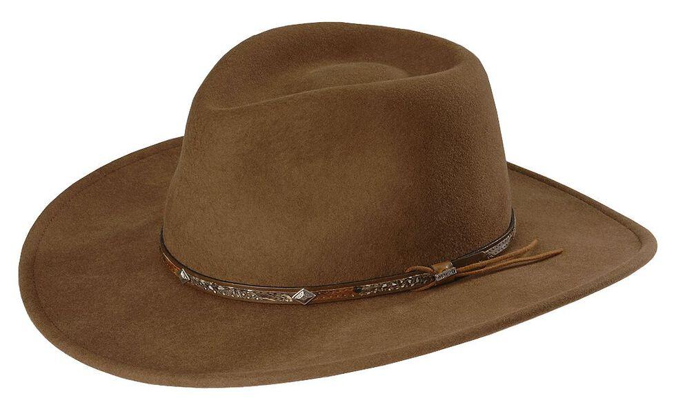 Stetson Mountain Sky Crushable Wool Felt Hat  f2ae4b56a24