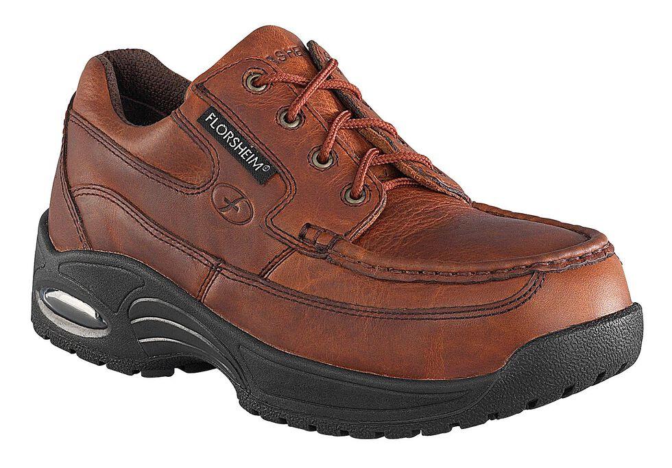 Florsheim Men's Polaris Composite Toe Lace-Up Oxford Shoes, Brown, hi-res