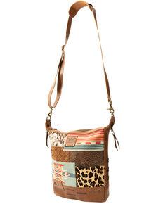 STS Ranchwear Women's Remnants Mail Bag, Brown, hi-res