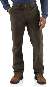 Carhartt Rugged Khaki Work Pants, Coffee, hi-res