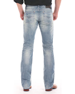 Rock & Roll Cowboy Men's Revolver Light Jeans - Straight Leg , Indigo, hi-res