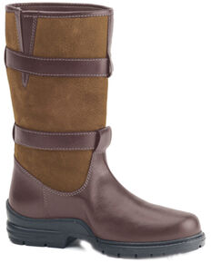 Ovation Women's Brown Maree Country Boots, Brown, hi-res