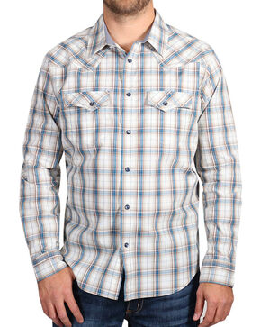 Cody James Men's Western Long Sleeve Shirt , White, hi-res