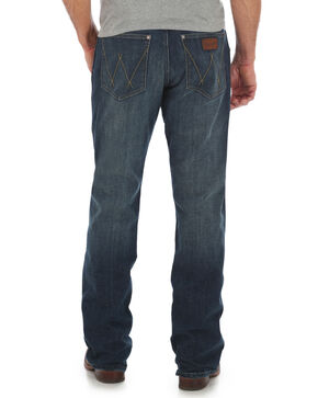 Wrangler Retro Men's Relaxed Boot Cut Jeans, Blue, hi-res