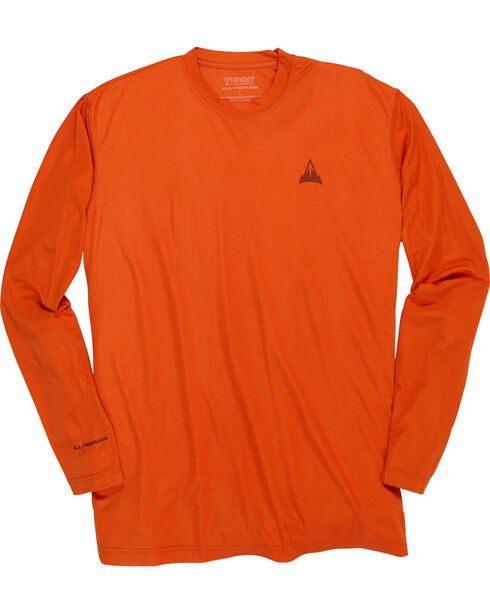 Wrangler Men's Rugged Wear All-Terrain T-Shirt - Big and Tall , Orange, hi-res