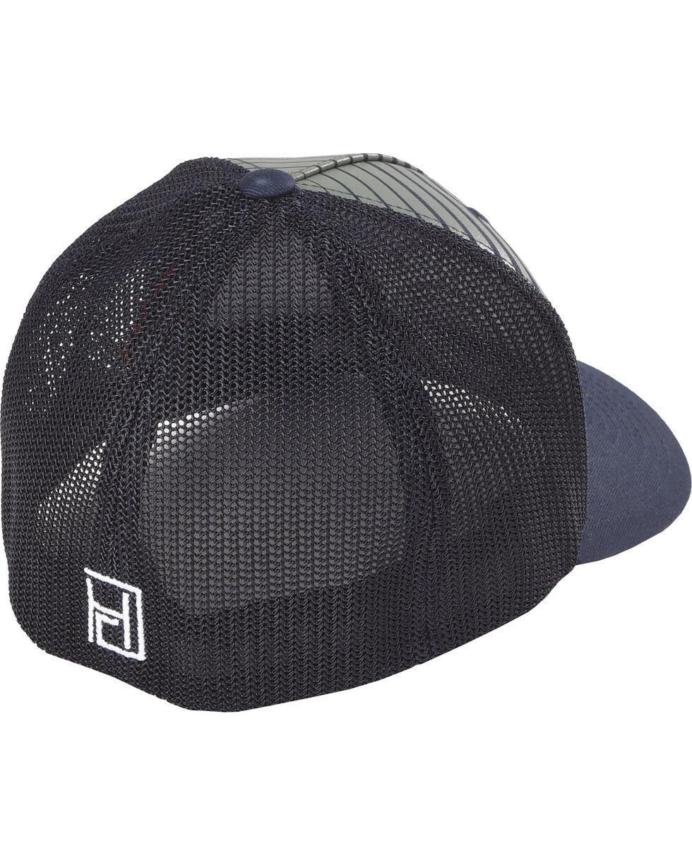 Hooey Men's Black Golf Flexfit Baseball Cap , , hi-res