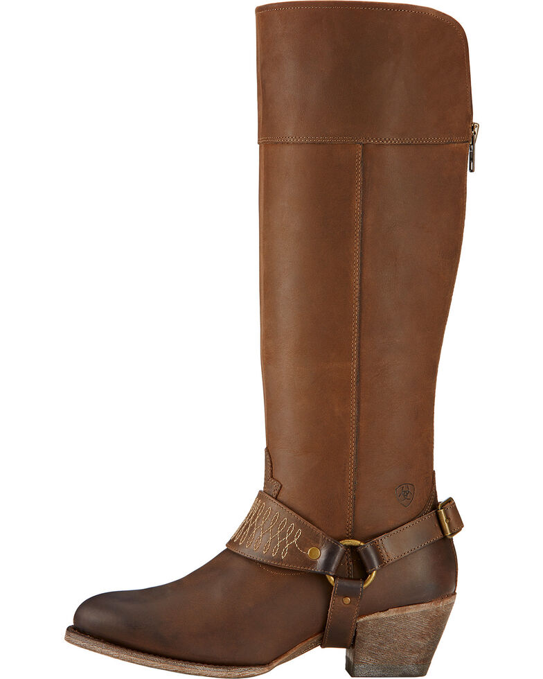 Ariat Sadler Distressed Women's Riding Boots - Round Toe, , hi-res