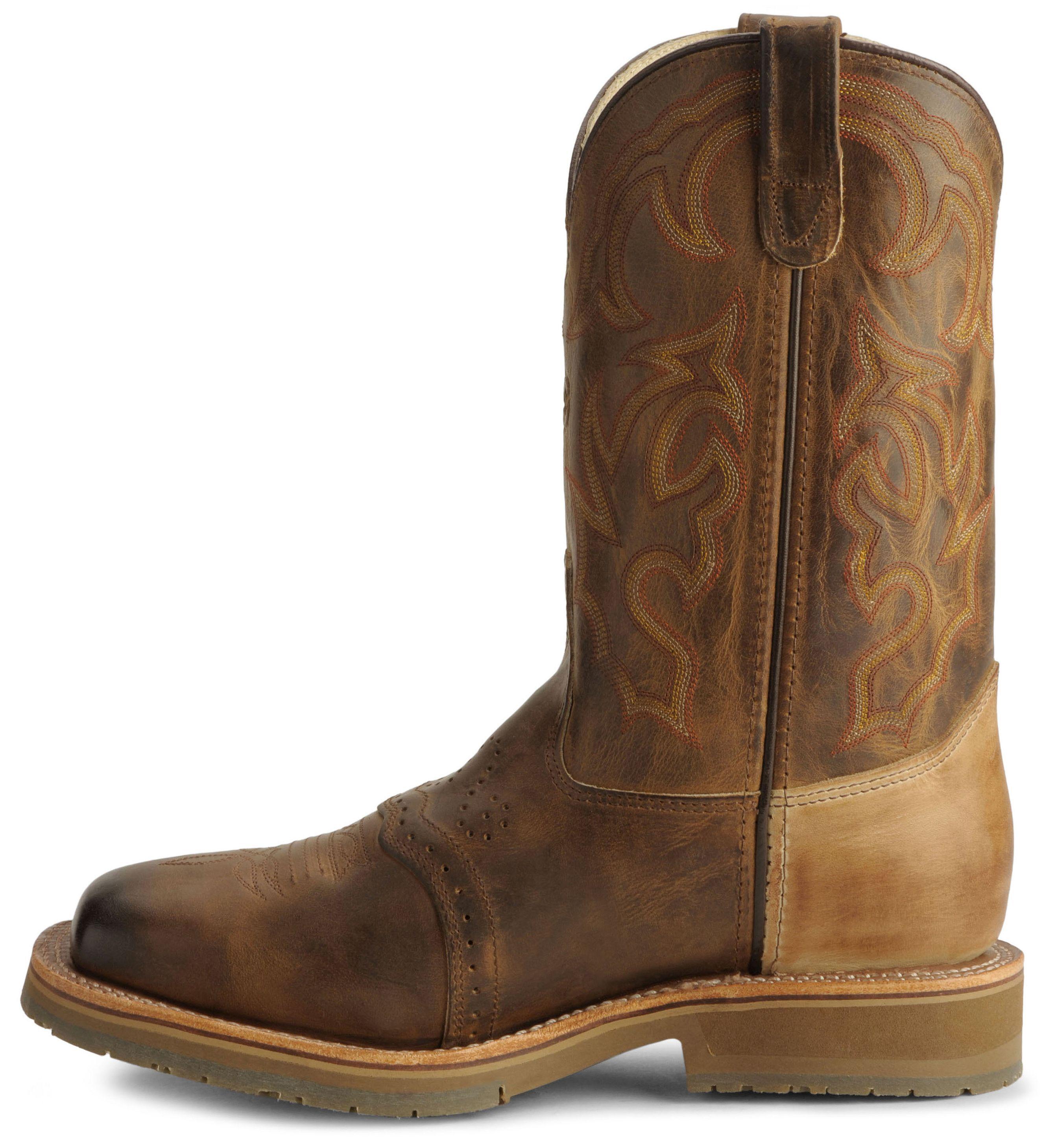 Ice Roper Cowboy Work Boots - Steel Toe