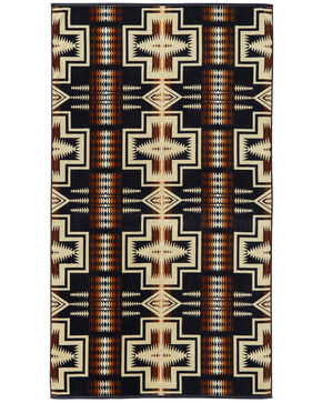 Pendleton Harding Oversized Beach Towel , Navy, hi-res