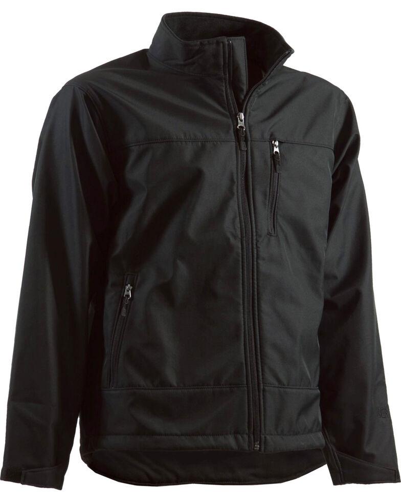 Berne Eiger Softshell Jacket - Tall 2XT, Black, hi-res