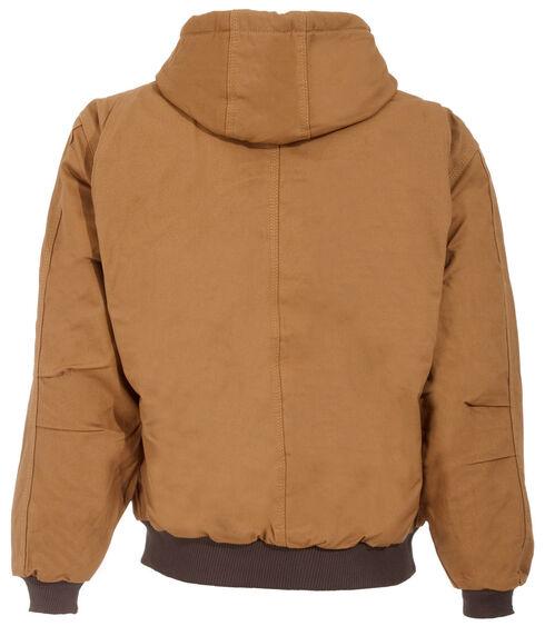 Berne Brown Duck Original Hooded Jacket - Big and Tall, Brown, hi-res