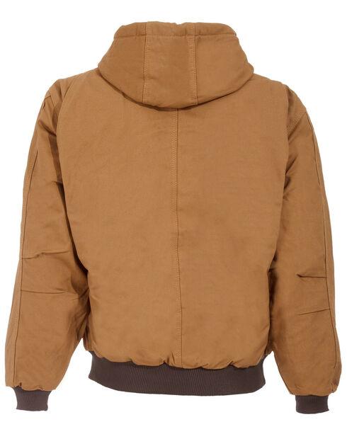 Berne Original Hooded Jacket - 5XT and 6XT, Brown, hi-res