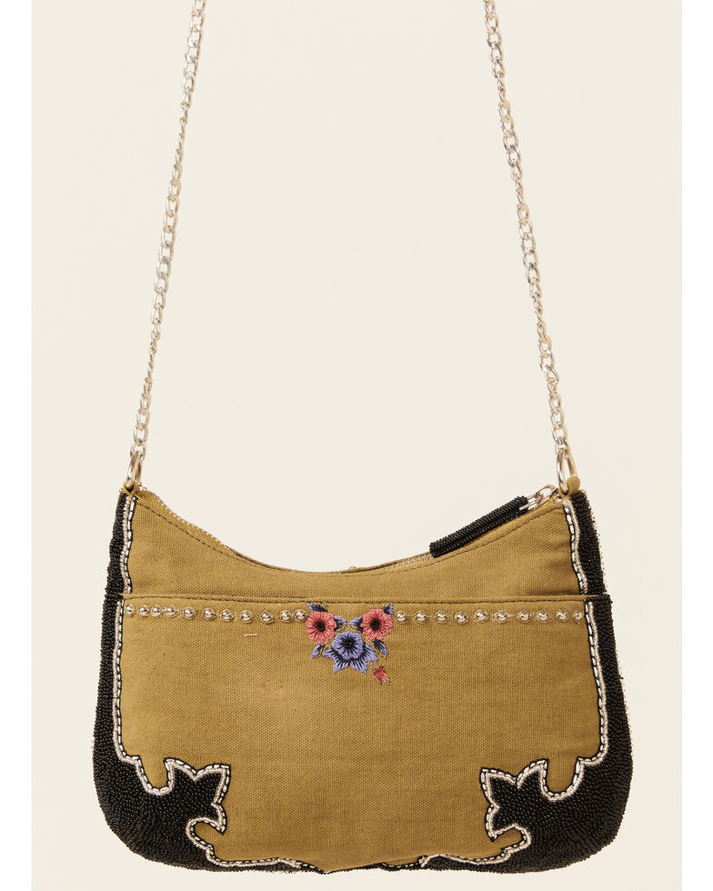 Mary Frances Women's Steer Clear Crossbody Handbag, Brown, hi-res