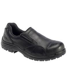 Avenger Men's Slip Resistant Work Shoes - Composite Toe, Black, hi-res