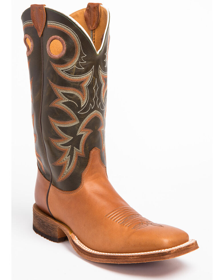 63899b1ac Justin Men s Bent Rail Cowboy Boots - Square Toe