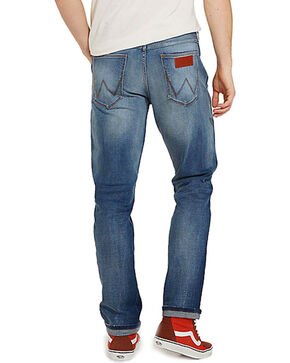 Wrangler Men's Blue Greensboro Retro Glory Jeans - Straight Leg , Blue, hi-res