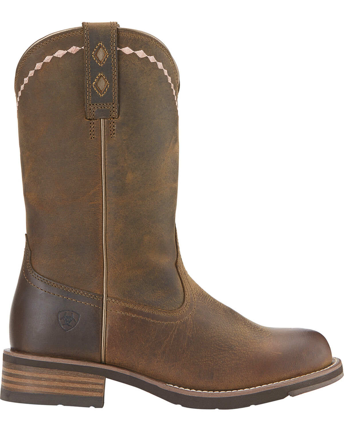 Unbridled Roper Boots - Round Toe