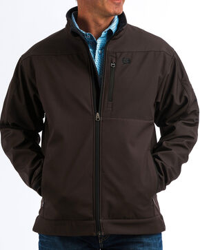 Cinch Men's Brown Bonded Jacket - Big, Brown, hi-res