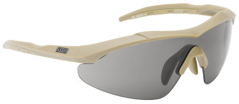 5.11 Tactical Aileron Shield Sunglasses (Three Lenses), , hi-res