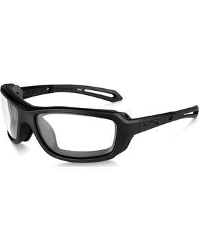 Wiley X Wave Clear Matte Black Sunglasses, Black, hi-res