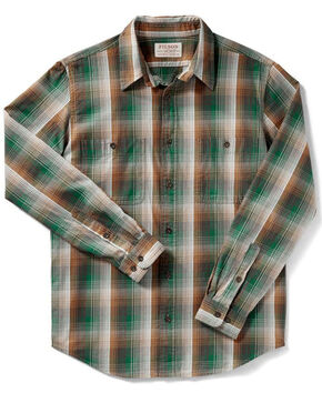 Filson Men's Green Wildwood Shirt , Multi, hi-res