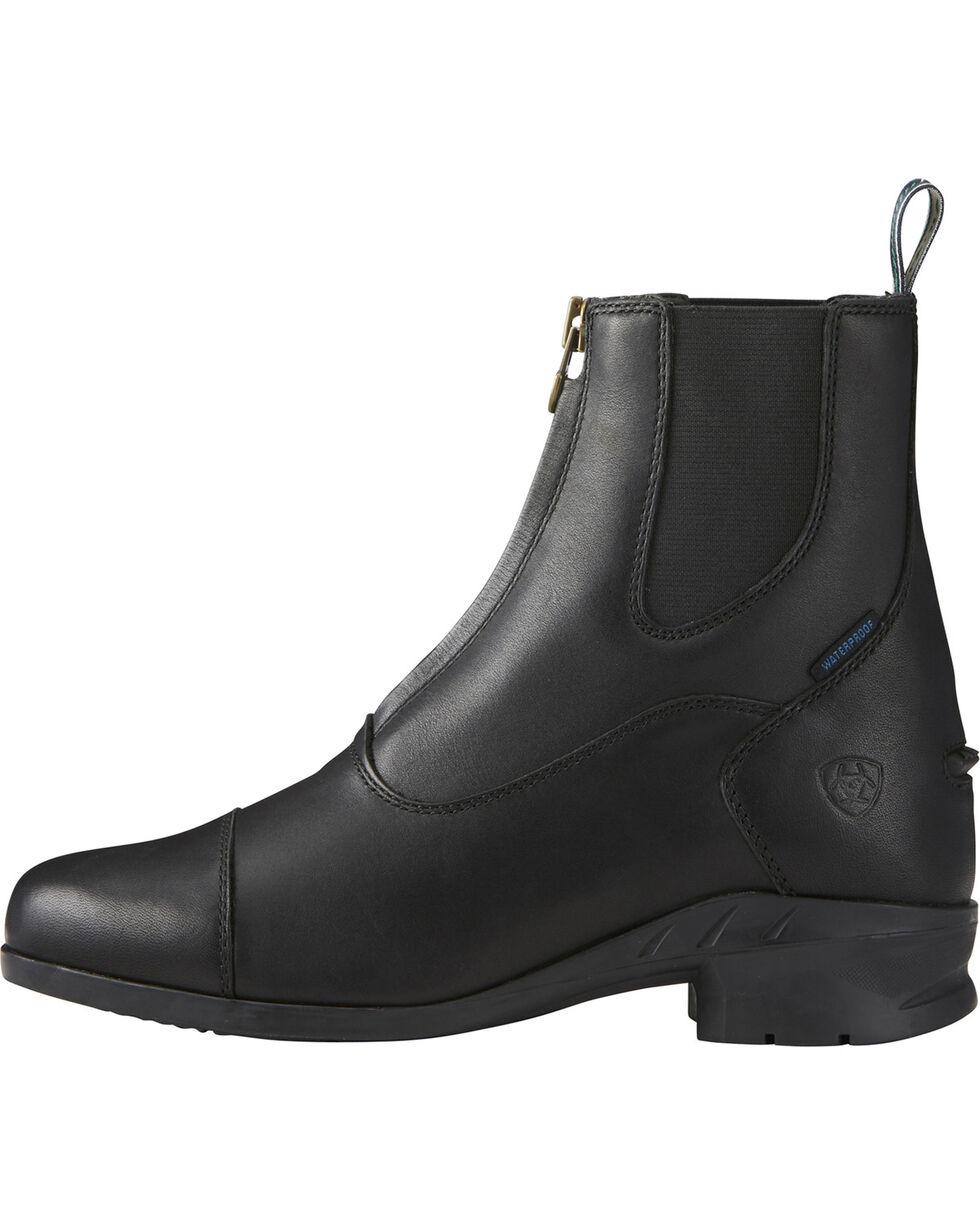Ariat Women's Heritage IV Zip Paddock Boots - Round Toe, Black, hi-res