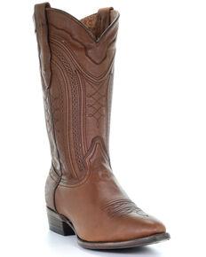 Corral Men's Cognac Western Boots - Round Toe, Cognac, hi-res