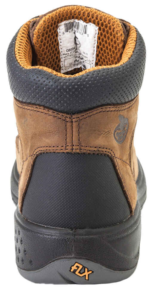 "Georgia Flxpoint Waterproof 6"" Work Boots - Composite Toe, Brown, hi-res"