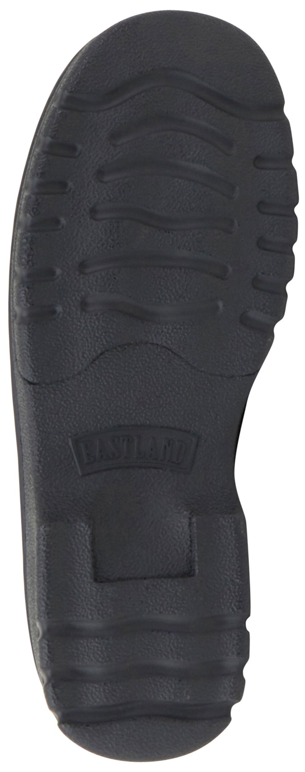 Eastland Women's Black Newport Slip-Ons , Black, hi-res