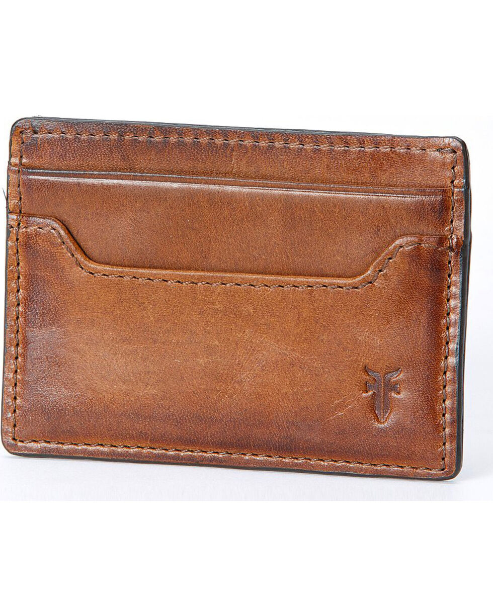 Frye Men's Logan Antique Pull-Up Card Holder , , hi-res