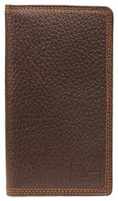 Nocona HDX Triple Stitched Rodeo Wallet, Brown, hi-res
