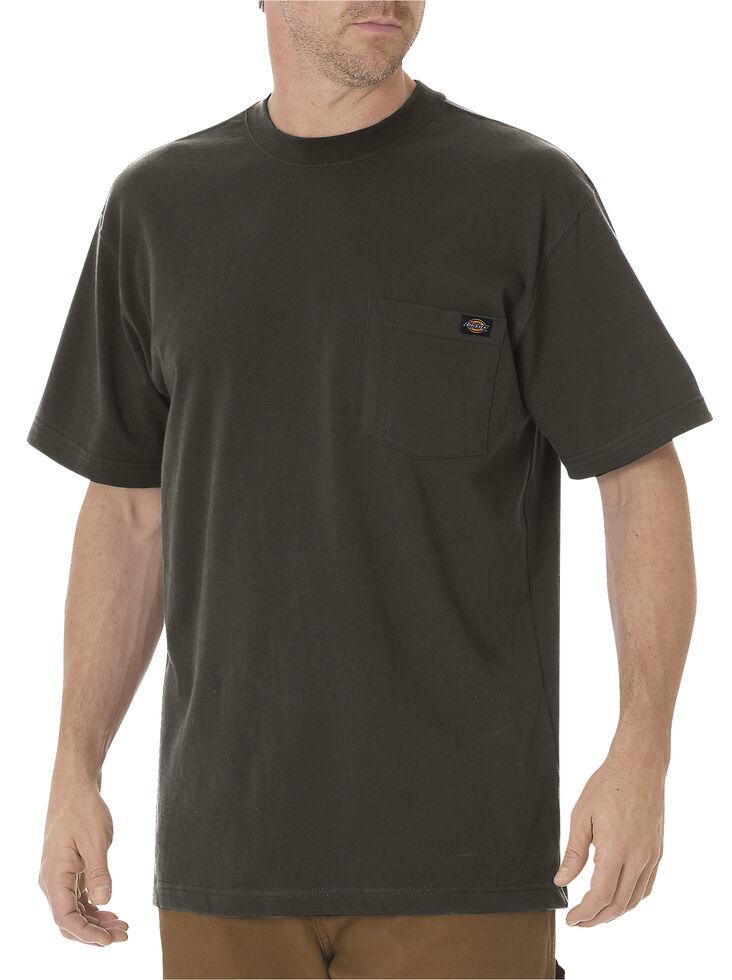 Dickies Men's Short Sleeve Heavyweight T-Shirt - Big & Tall, Dk Olive, hi-res