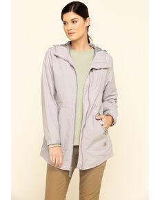 Carhartt Women's Grey Rain Defender Nylon Coat  , Grey, hi-res