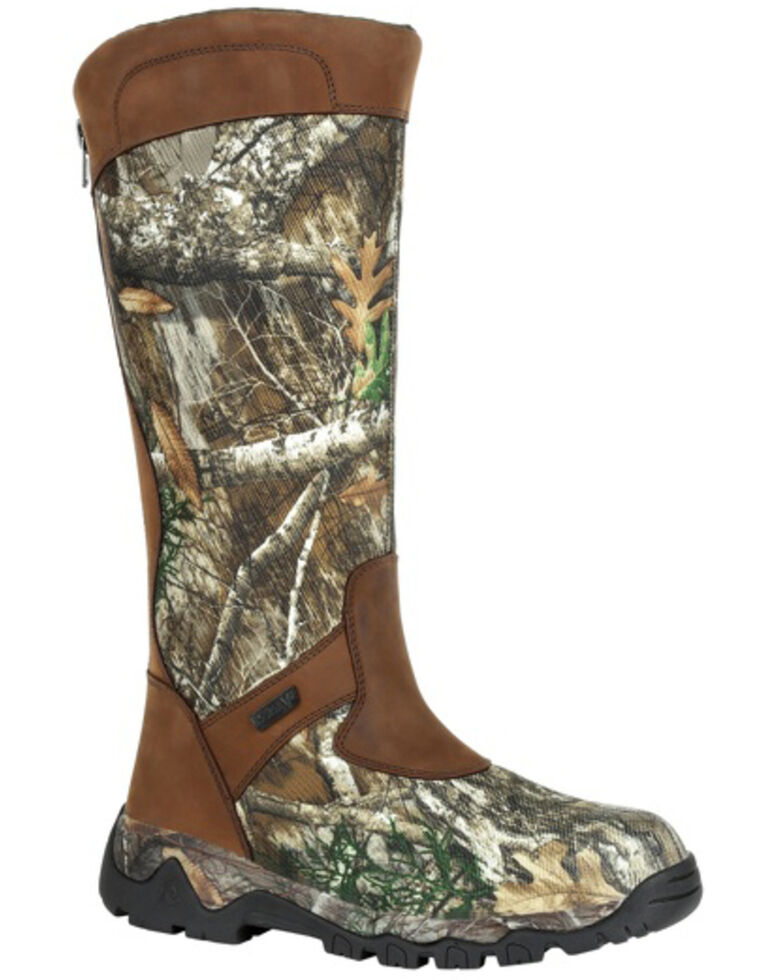 Rocky Men's Red Mountain Waterproof Snake Boots - Soft Toe, Camouflage, hi-res