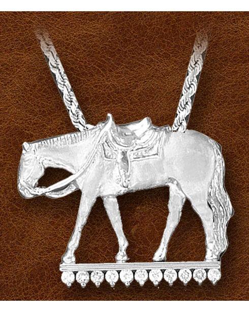 Kelly Herd Sterling Silver Western Pleasure Necklace, Silver, hi-res