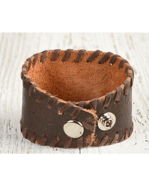 Cowgirl Confetti Women's Desert Bloom Cuff Bracelet, Brown, hi-res