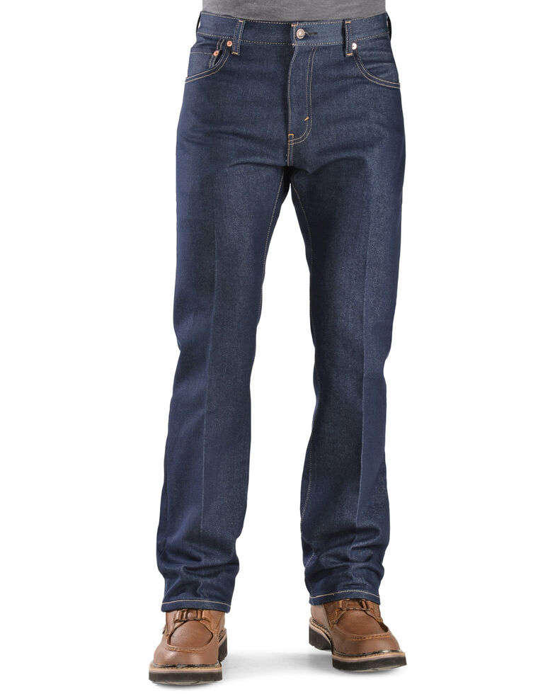 Levi's Men's 517 Dark Stretch Slim Bootcut Jeans , Indigo, hi-res